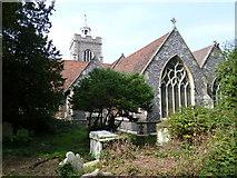 TQ0682 : Hillingdon, St John the Baptist by Dave Kelly