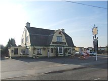 TQ5571 : The Papermakers Arms, Hawley by Chris Whippet