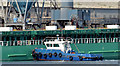 "J3576 : The ""Arklow Mill"" arriving at Belfast harbour - September 2014(2) by Albert Bridge"