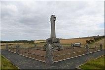 NT8837 : Flodden memorial by DS Pugh