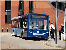 TQ2850 : Redhill:  Bus station:  Metrobus 763 by Dr Neil Clifton