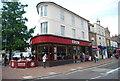 TQ5839 : Costa, Fiveways by N Chadwick