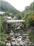 SS7249 : West Lyn River towards Glen Lyn Gorge by Josie Campbell