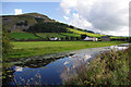 SD5380 : Lancaster Canal and Farleton Knott by Ian Taylor