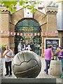 TQ4379 : Dial Square FC Memorial by Colin Smith