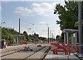 SK5636 : Compton Acres tram stop by Alan Murray-Rust