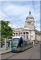 SK5739 : New tram at the Council House by Alan Murray-Rust
