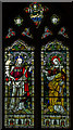 TQ8009 : Stained glass window, St Mary Magdalene church, St Leonards on Sea by Julian P Guffogg