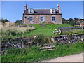 NO6193 : Balfiddy farmhouse (2014) by Stanley Howe