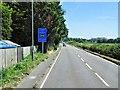 TQ0172 : A308, London Low Emission Zone Warning by David Dixon