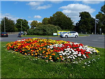 SP5397 : Roundabout on the B4114 by Mat Fascione