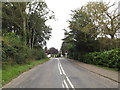 TG2005 : Low Road & Low Road Crossing by Geographer