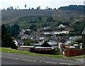SS9091 : Hillside view from Meadow Street Pontycymer by Jaggery