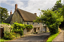 ST5707 : Melbury Osmond - The Old Post House by Mike Searle