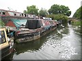 SP8814 : Grand Union Canal: Aylesbury Arm: Bates Boatyard at Puttenham by Nigel Cox