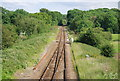 TQ4644 : Oxted  Line becomes single track by N Chadwick