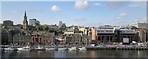 NZ2563 : Newcastle Quayside from Sage forecourt by Chris Morgan