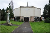 SO8754 : Holy Trinity & St Matthew's Church Ronkswood by Philip Halling