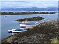 NM7312 : Boats near Cullipool by Oliver Dixon