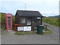 NM7514 : Ferry waiting room at South Cuan by Oliver Dixon