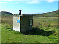 NM8026 : Compost toilet near Lower Gylen by Oliver Dixon