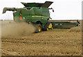 TA0115 : Harvesting near Bonby by David Wright