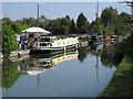 SP8713 : Narrowboats at permanent mooring, Aylesbury Arm by David Hawgood
