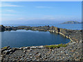 NM7317 : Flooded quarry on Easdale Island by Oliver Dixon