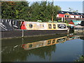 """SP8814 : Star class narrowboat """"Arcturus"""" at Bates Boatyard by David Hawgood"""
