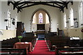 TF0498 : Interior, St Mary's church, South Kelsey by J.Hannan-Briggs