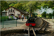 NY1700 : Dalegarth Station, Eskdale by Peter Trimming