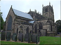 SK5319 : All Saints with Holy Trinity, Loughborough: September 2014 by Basher Eyre