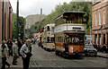 SK3454 : Trams as far as the eye can see by Alan Murray-Rust