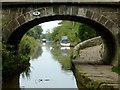 SJ8762 : Morris Bridge at Congleton, Cheshire by Roger  Kidd