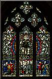 TF0684 : Stained glass window, All Saints' church, Faldingworth by J.Hannan-Briggs
