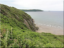 SM8513 : Cliffs at The Settland by Tony Atkin