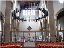TQ3871 : St John the Baptist, Catford: screen by Stephen Craven