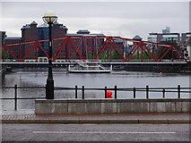 SJ8097 : Detroit Bridge, Salford Quays by Eirian Evans