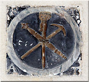 TG2834 : St Botolph, Trunch - Plaque by John Salmon