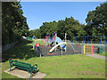 TQ5591 : Playground in the Park by Des Blenkinsopp