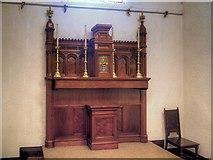 SJ7996 : St Antony's Church - Inside the Tin Tabernacle (5) by David Dixon