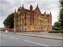 SJ7996 : Trafford Park Hotel, Village Way by David Dixon