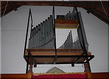 SD9772 : St. Mary, Kettlewell: organ by Basher Eyre