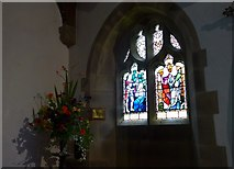 SD9772 : St. Mary, Kettlewell: stained glass window (e) by Basher Eyre