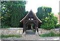 TQ5045 : Lych gate, St Mary's Church by N Chadwick