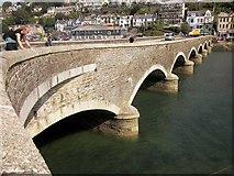 SX2553 : Looe Bridge by Derek Harper
