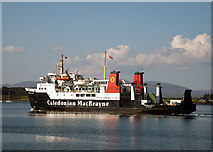 NM8529 : Hebridean Isles in Oban Bay (3) by The Carlisle Kid