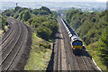 SO8007 : North bound freight train by Stuart Wilding