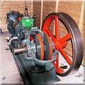 SD7922 : Steam Compressor at Grane Mill by David Dixon