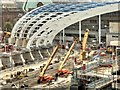 SJ8499 : New Roof Construction at Victoria Station - September 2014 by David Dixon